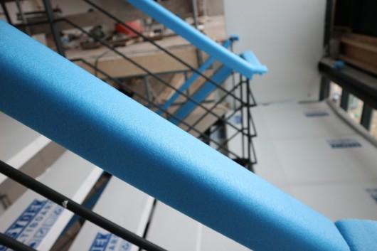 Treppengeländer schützen mit Frame Cover U-Schale